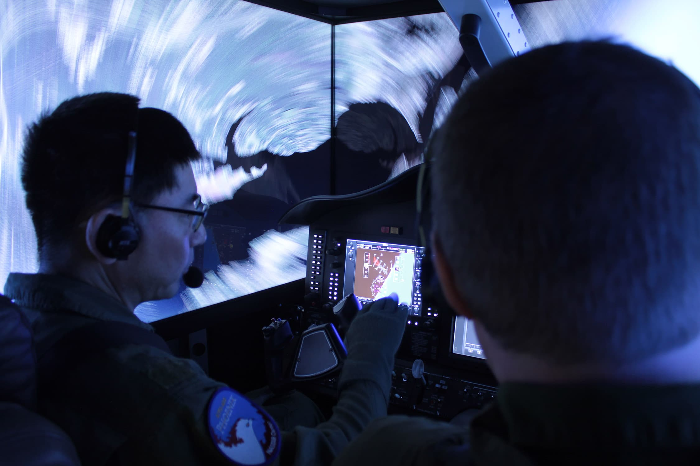 Flight Simulation Based G-Training in a Human Centrifuge