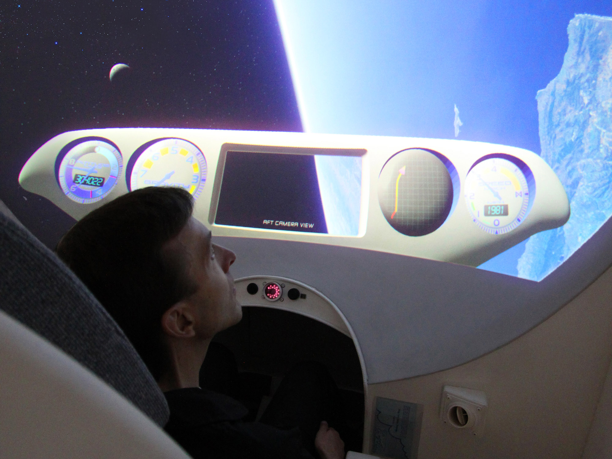 ATFS-400-31 Spaceflight Training in a Human Centrifuge