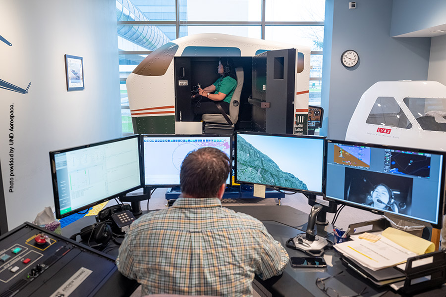 GAT-III Spatial Disorientation Trainer at UND Aerospace